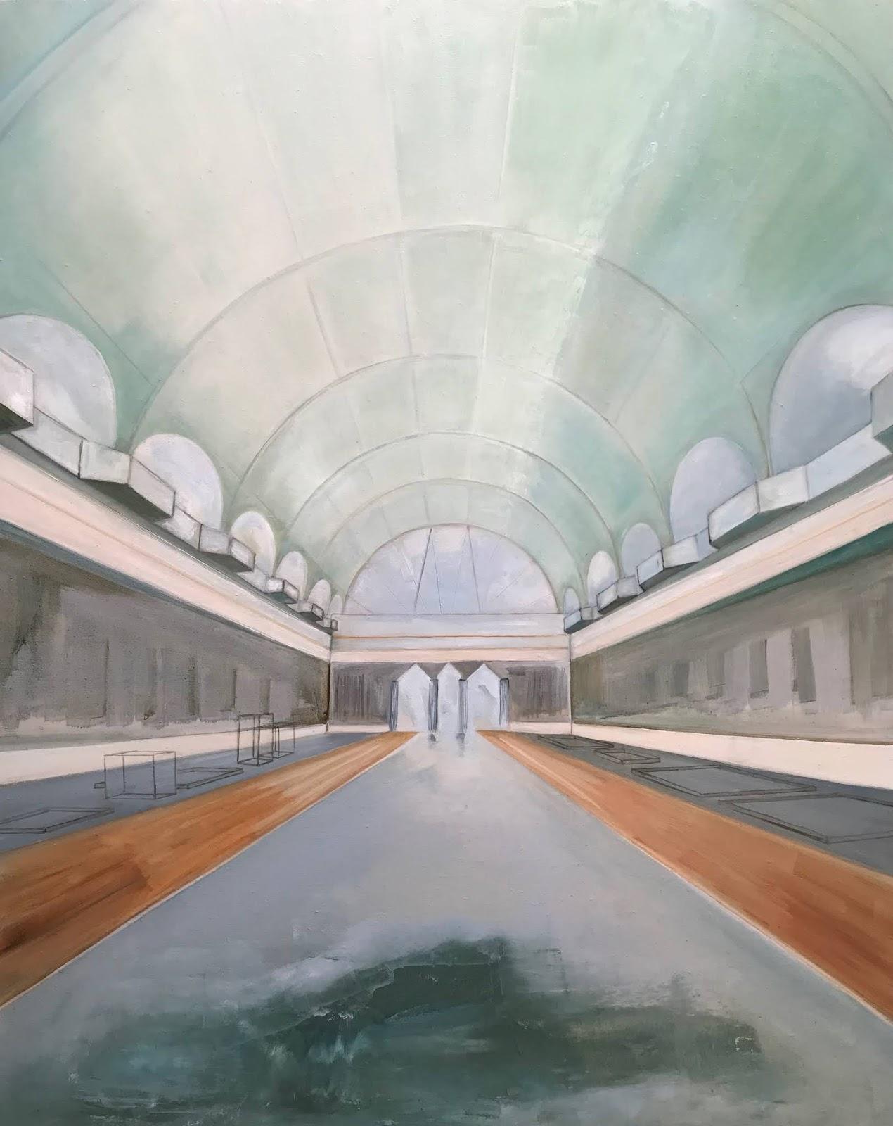 Rai Boux, huile sur toile, 130 x 97 cm