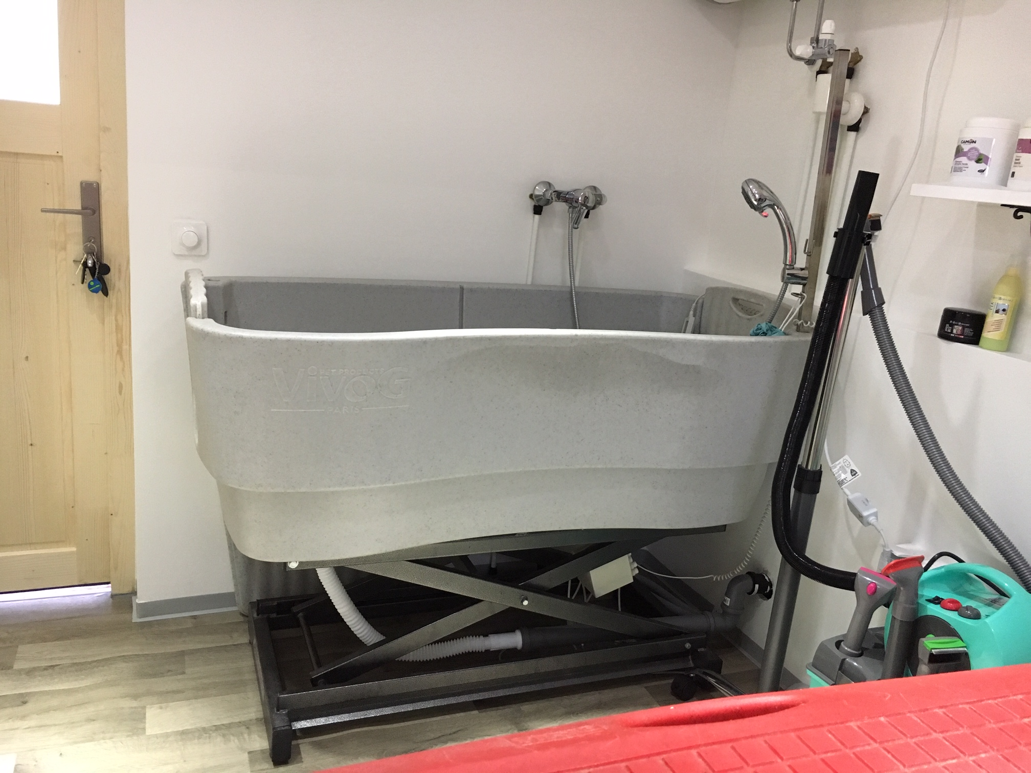 Hydraulische Badewanne