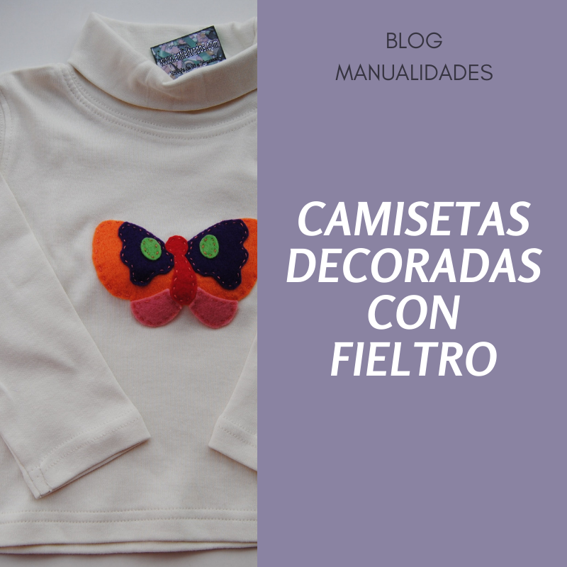 Camisetas decoradas con fieltro