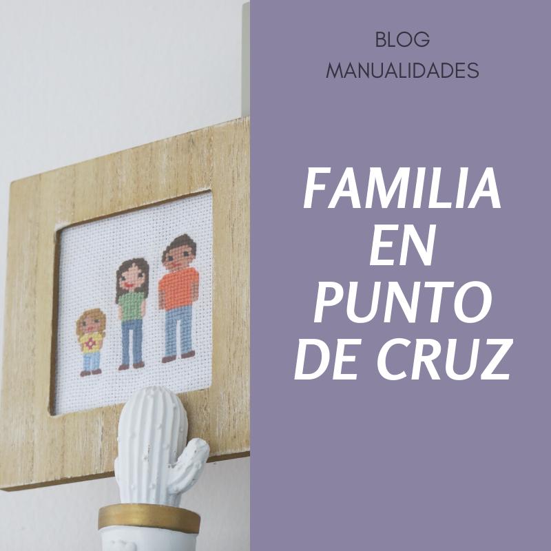 Familias en punto de cruz