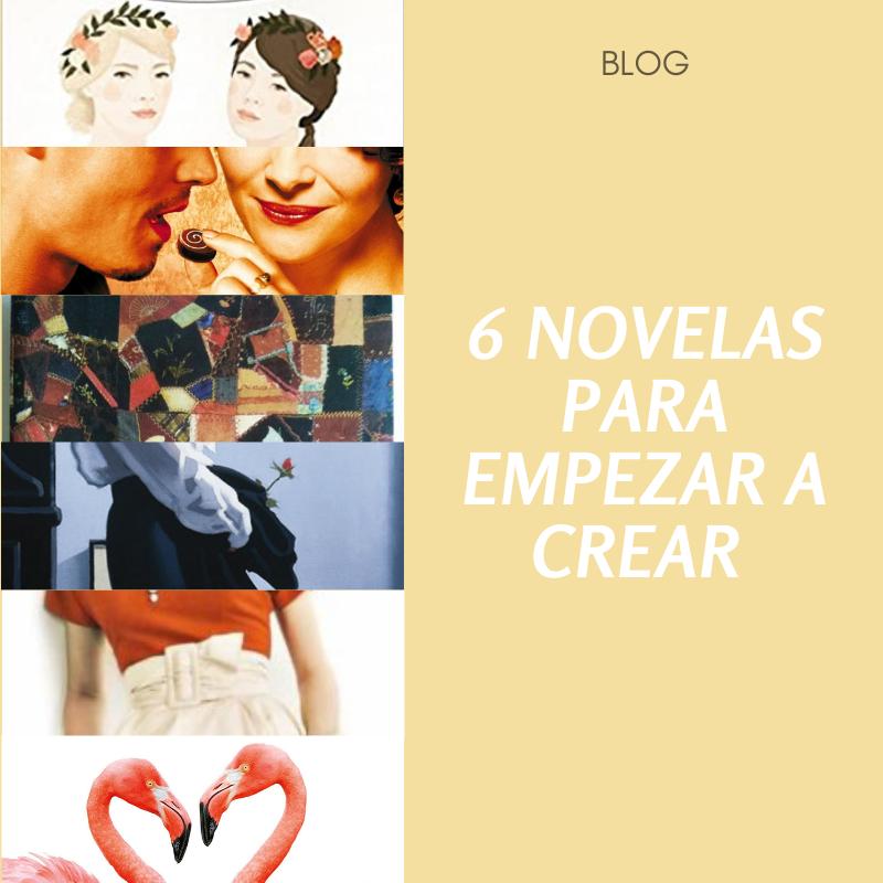 6 novelas para empezar a crear