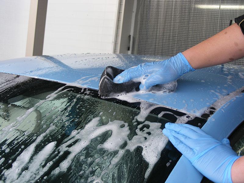 1−1:洗浄/車のボディーコーティング施工手順【カーフレッシュ新潟】
