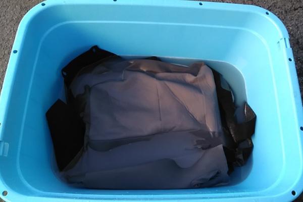 シートカバーの付け置き洗い|車内の特殊クリーニング【カーフレッシュ新潟】