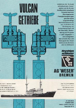 Werbeanzeige April 1969