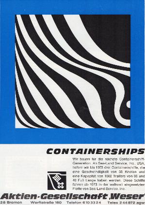 Werbeanzeige Nov. 1969