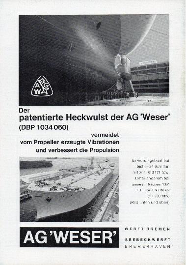 Werbeanzeige März 1965