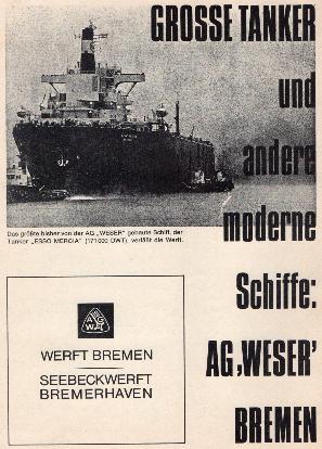 Werbeanzeige März 1968