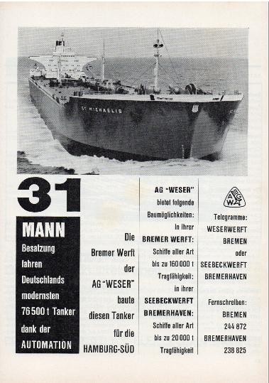 Werbeanzeige Sept. 1966