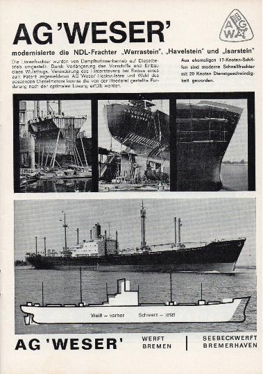 Werbeanzeige Dez. 1964