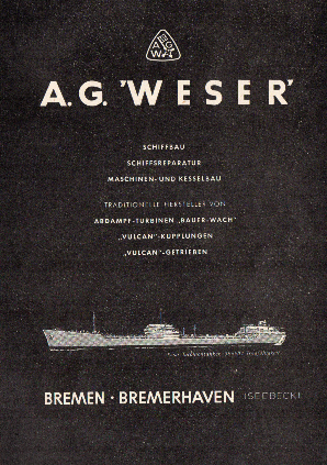 Werbeanzeige Mai 1958