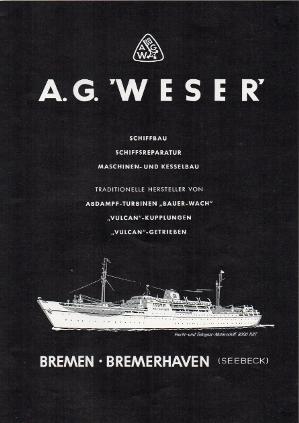 Werbeanzeige Jan. 1956