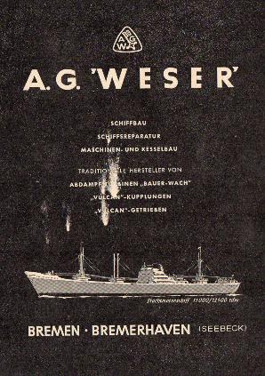 Werbeanzeige Juli 1958