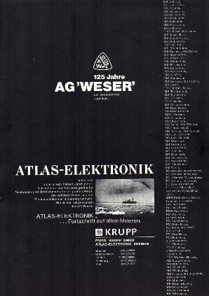 Werbeanzeige Dez. 1968