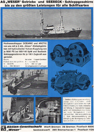 Werbeanzeige Dez. 1969
