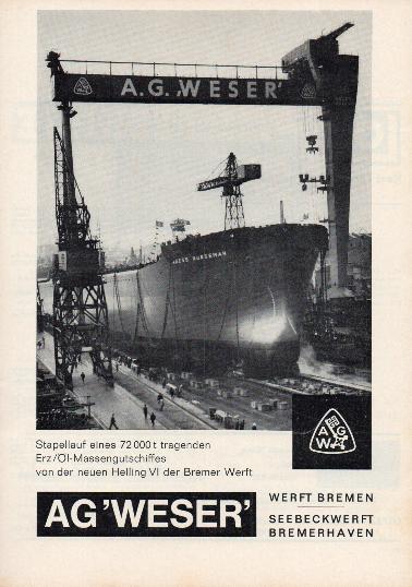 Werbeanzeige Dez. 1965