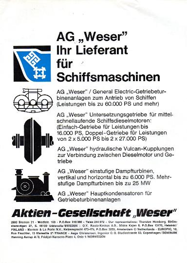 Werbeanzeige Sept. 1974