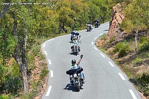 Balades en motos