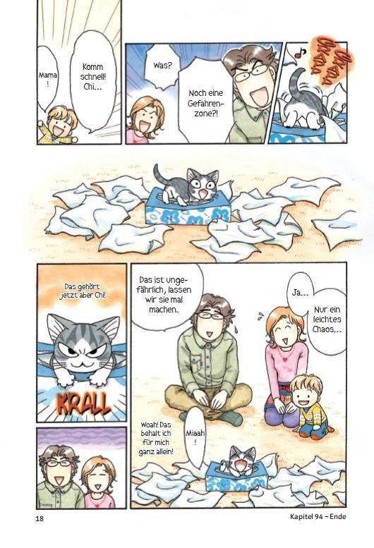 Seite 18 aus dem Buch Kleine Katze Chi Band 6