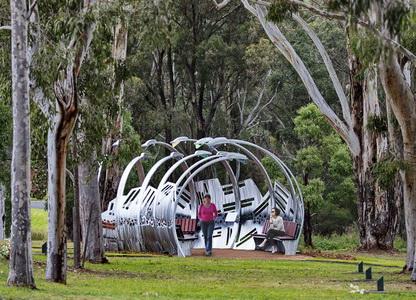 """Lamplight"" 2020 Appin, NSW"