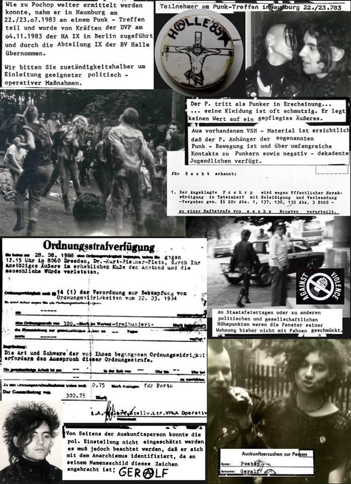 Untergrund war Strategie. Punk in der DDR: Zwischen Rebellion und Repression.