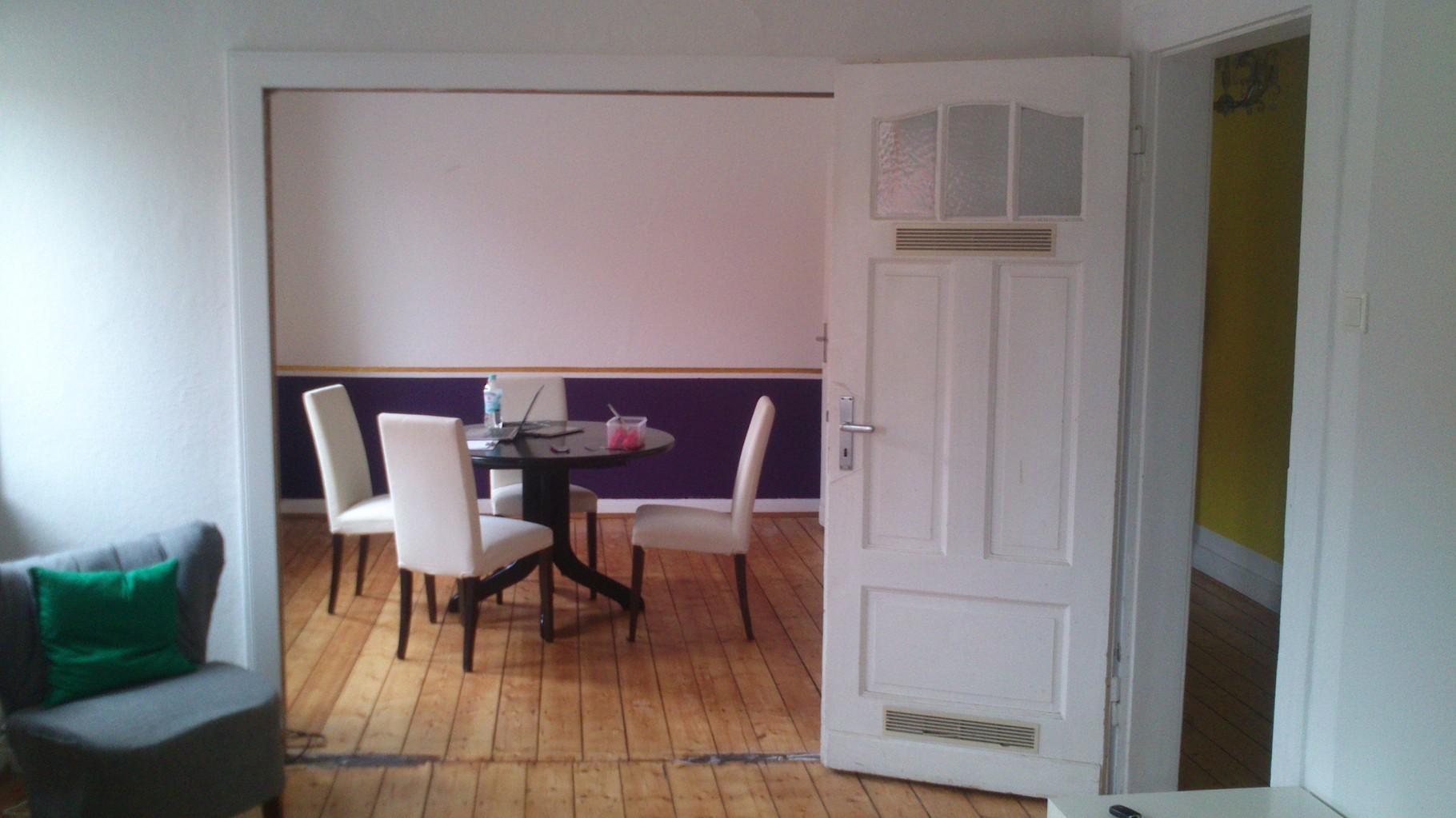JUNGES PAAR MS | Schon gestrichen und bald kommt der neue Tisch...