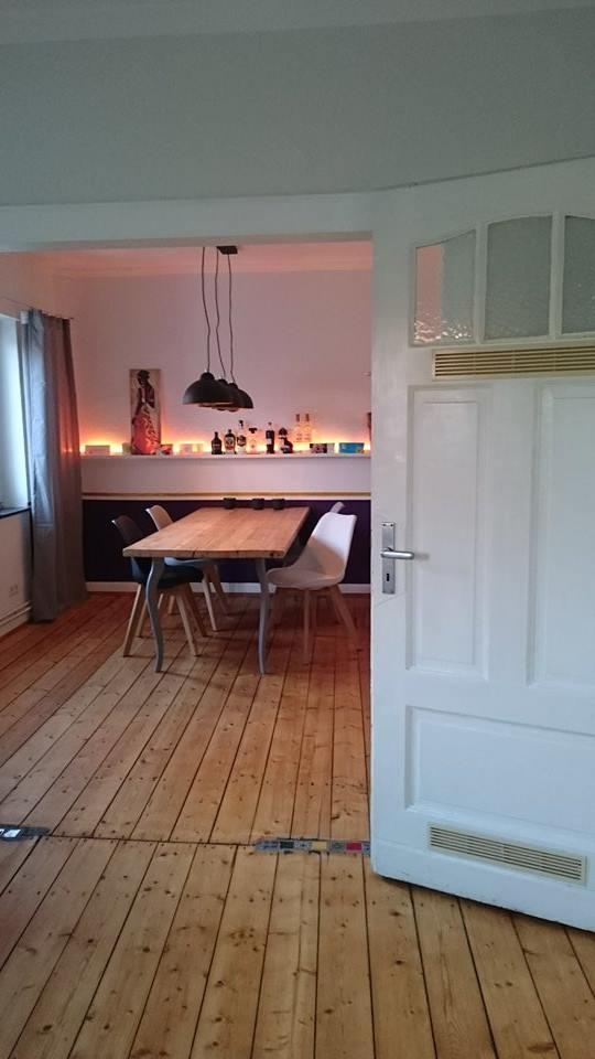 JUNGES PAAR MS | Bauholztischplatte mit Beinen von Ikea | günstiger geht es nicht