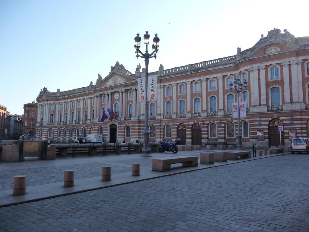 Toulouse : la Place du Capitole