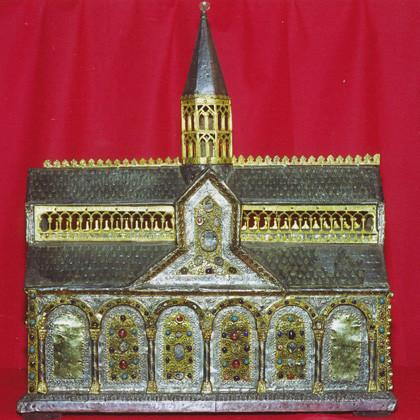 Une des châsses de l'abbaye de Grand selve sauvée à la Révolution