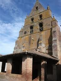 Bouillac, le clocher mur, classé