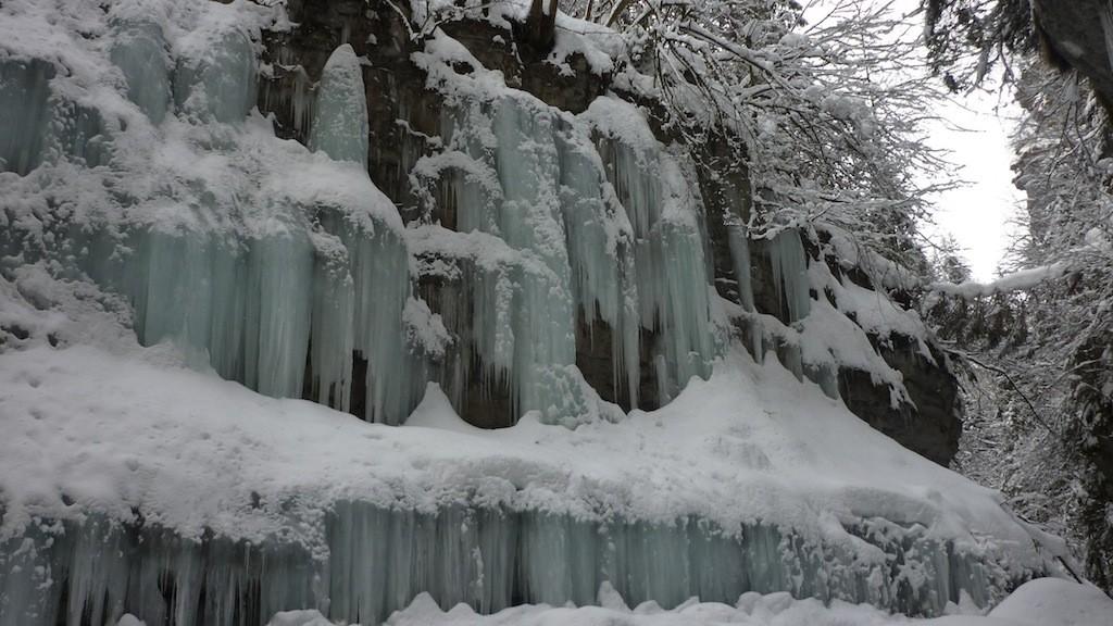 Asiago - canyon Gelpach: canyon con flussi a SX