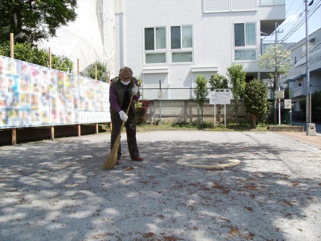 防災広場の清掃_001