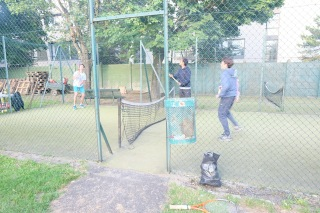 Un nouveau sport au CAM le tennis-hockey