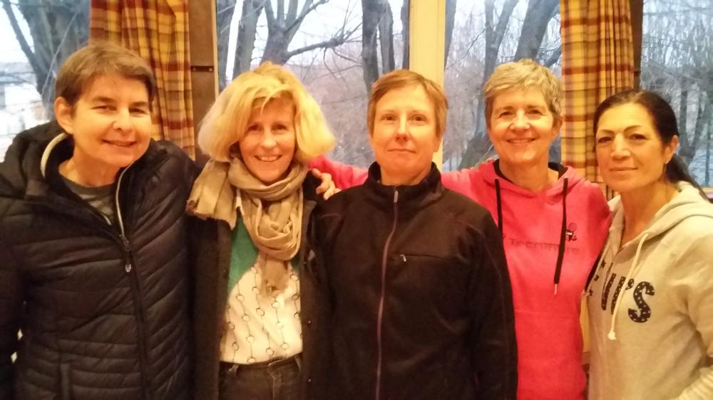 Sylvie, Bénédicte, Florence, Micheline & Patricia