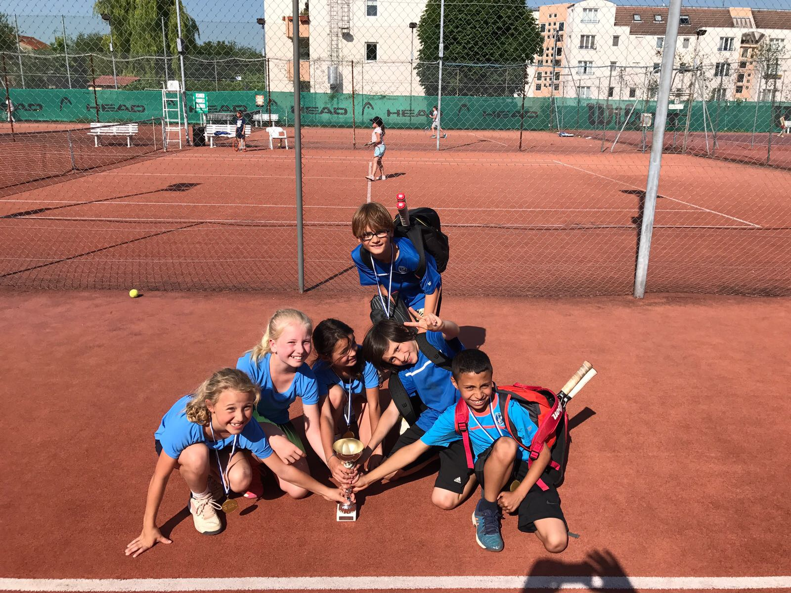 Les 9/10 ans Champions des Hauts de Seine !!