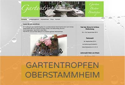 www.gartentropfen.ch / bis Anfang 2016