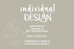www.individual-design.ch / Visitenkarte