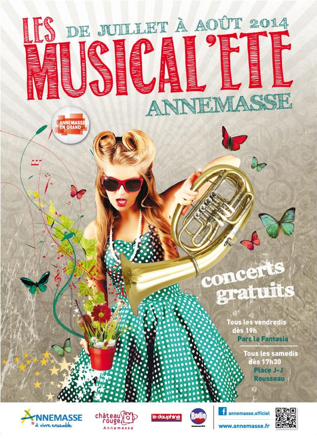 Musical'Été - Annemasse