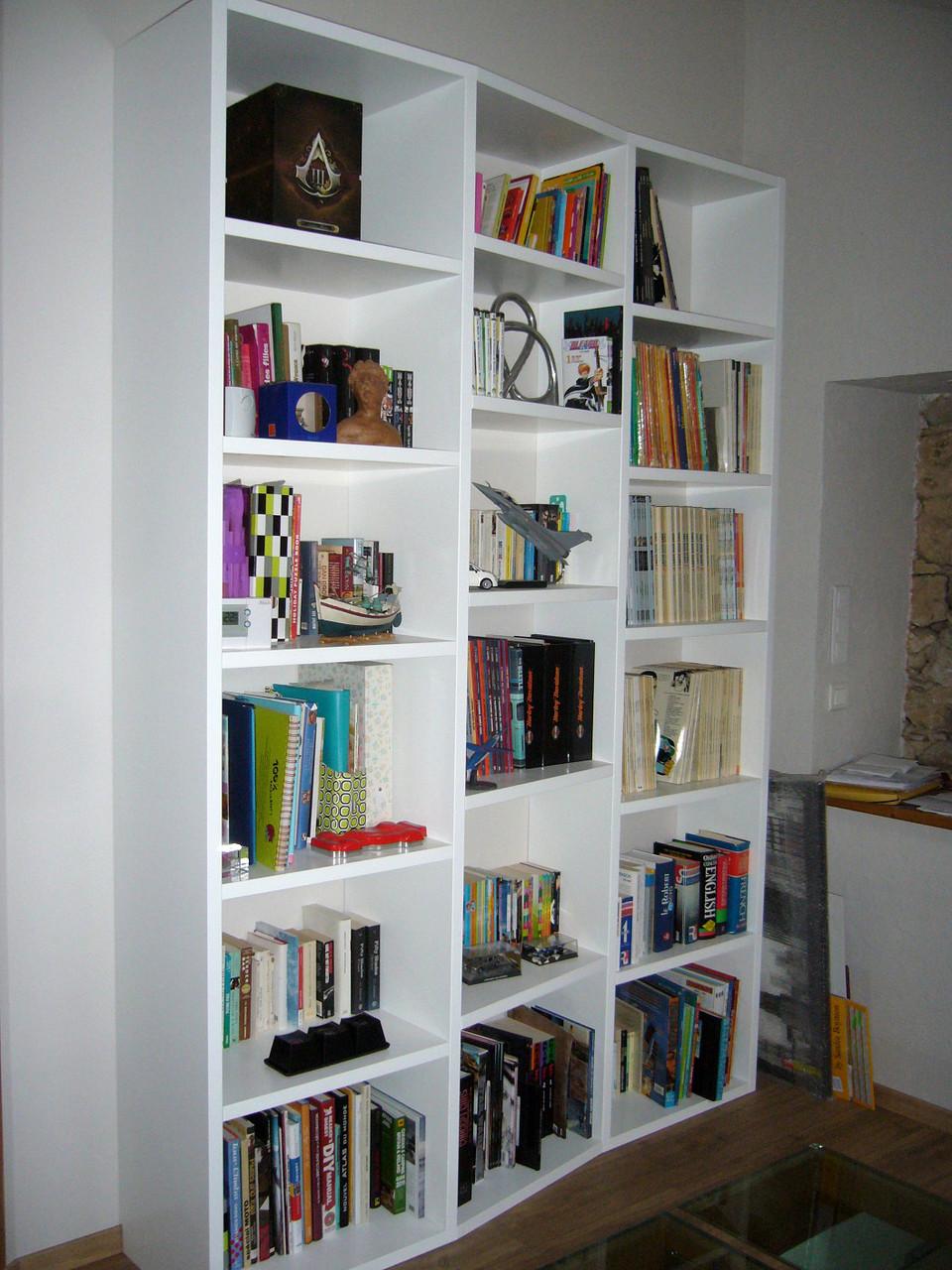 Bibliothèque laquée