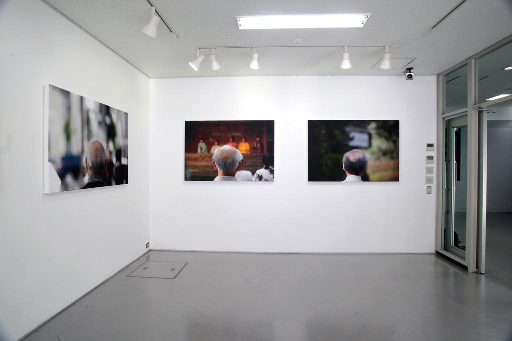 exhibition view at Nagoya University gallery