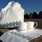 Beach Huts home accessories by Jin Designs