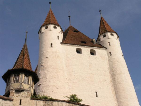 Schloss Thun (Westfront...)