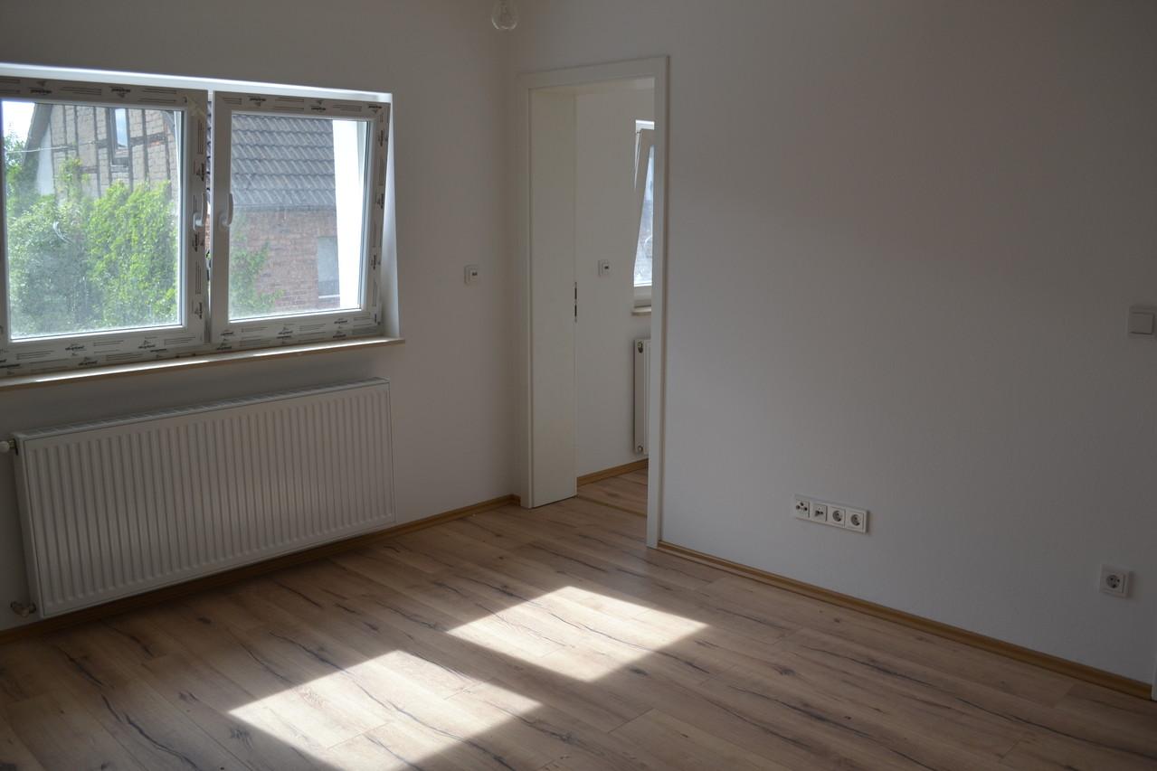 Einfamilienhaus - nacher Schlafzimmer