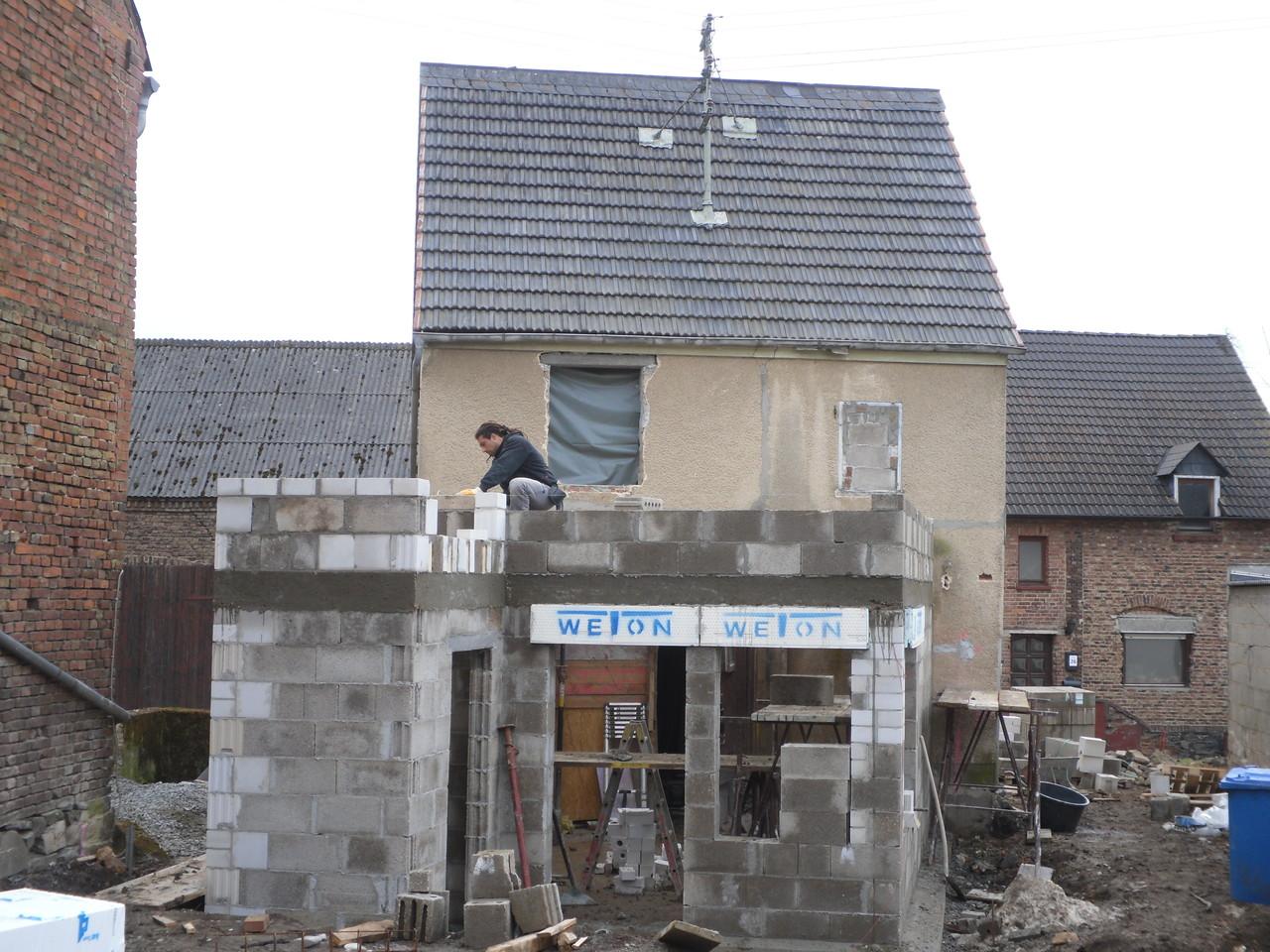 Einfamilienhaus -  Anbau