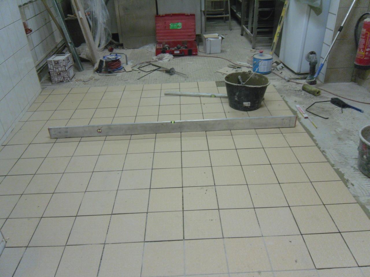 Renovierung Restaurantküche