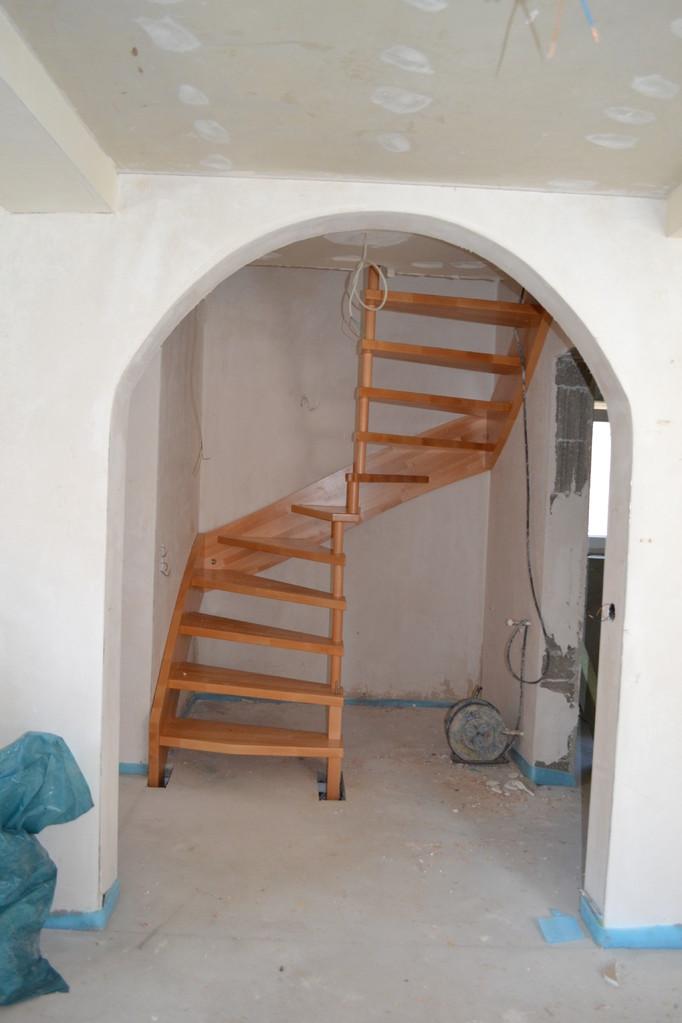 Einfamilienhaus - nacher Treppe