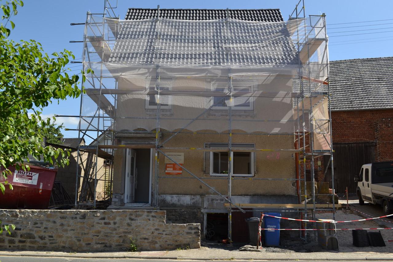 Einfamilienhaus - nacher Dämmung