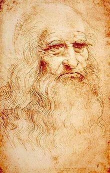 Autoportrait-de-Leonard-de-Vinci