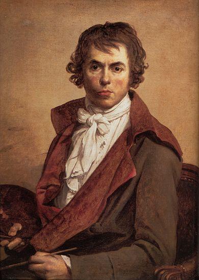 Peinture de Jacques Louis David : Autoportrait (1794), Musée du Louvre, Paris