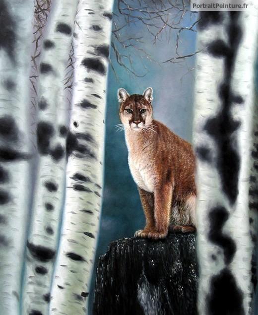 peintre-animalier-lynx-peinture