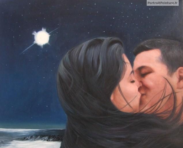 portrait-peinture-couple-huile